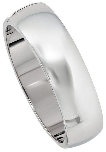 JOBO Armreif, breit oval 925 Silber