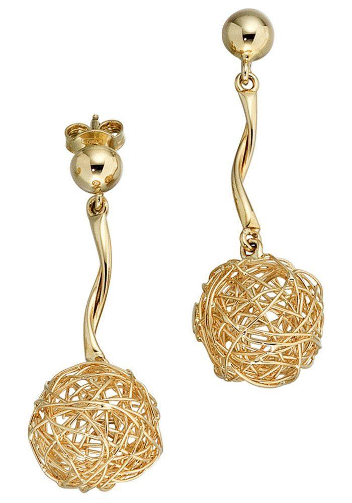 JOBO Paar Ohrhänger 585 Gold