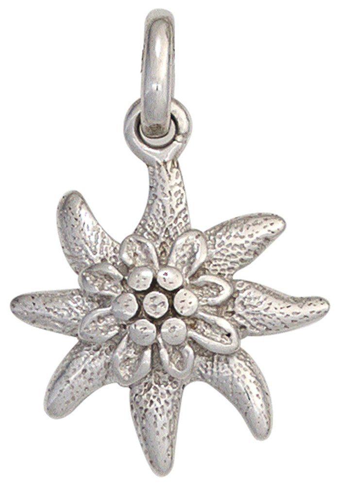 925 Jobo »edelweiß« Silber Kettenanhänger Kaufen N80OkXnwP
