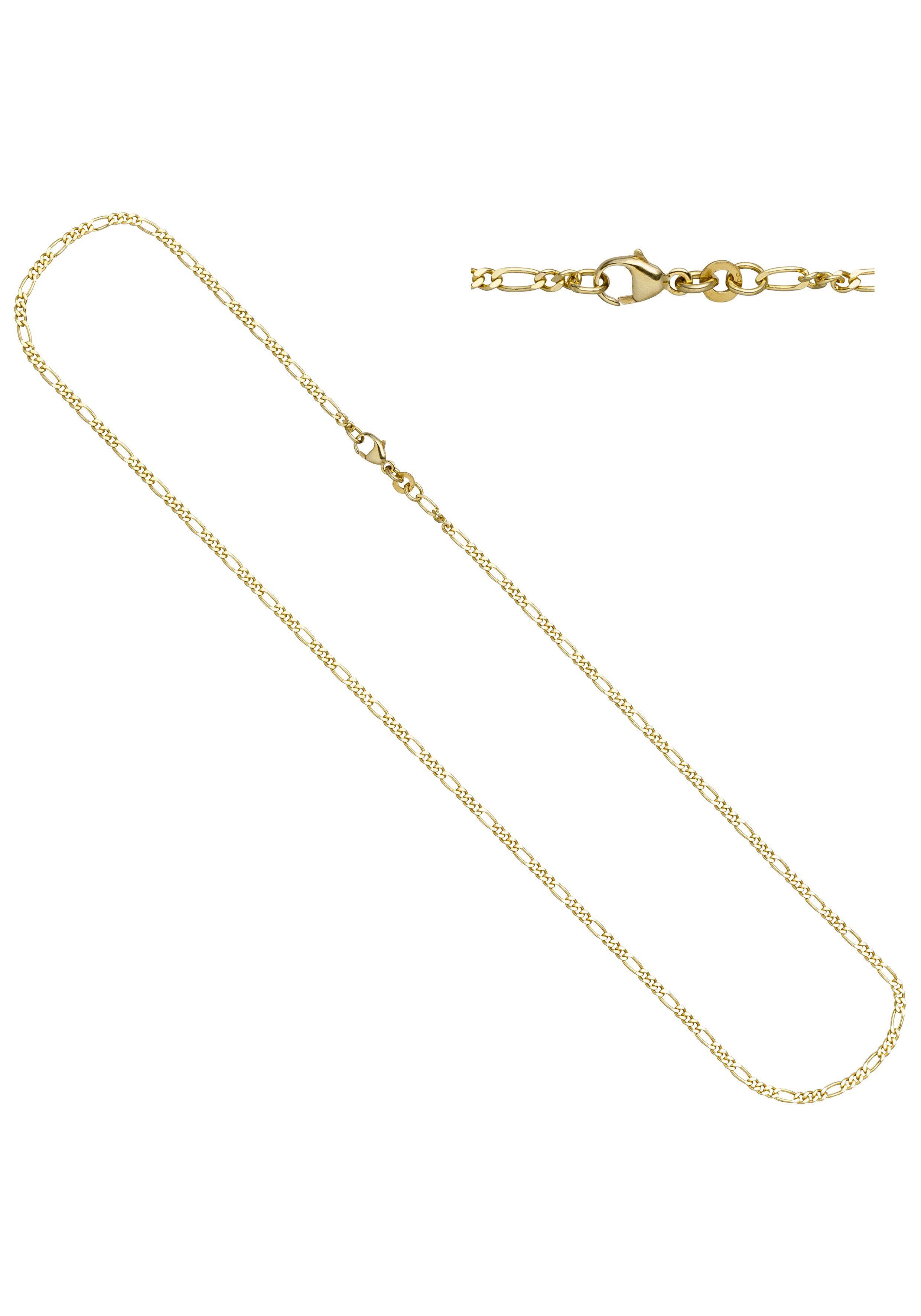 JOBO Goldkette Figarokette 333 Gold 45 cm 2,3 mm
