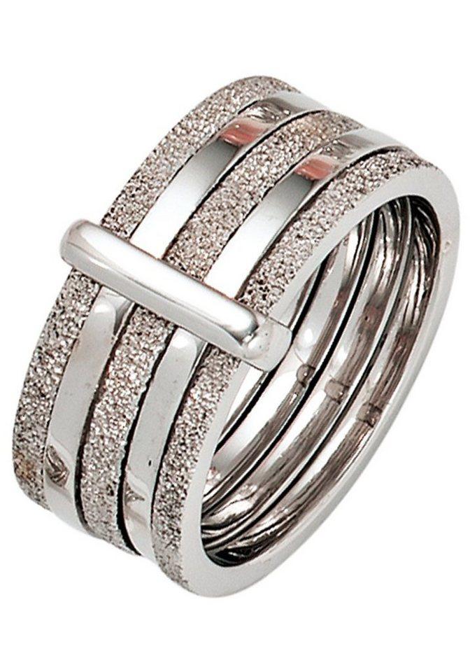 JOBO Silberring breit 925 Silber | Schmuck > Ringe > Silberringe | JOBO