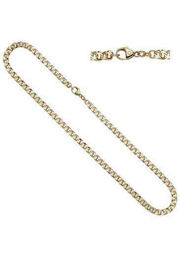 JOBO Goldkette, Garibaldikette 585 Gold 45 cm