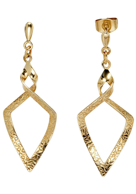 JOBO Paar Ohrhänger 375 Gold
