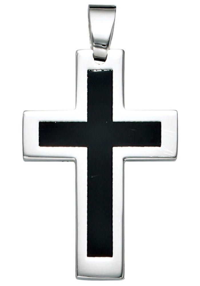 JOBO Kreuzanhänger Kreuz Edelstahl