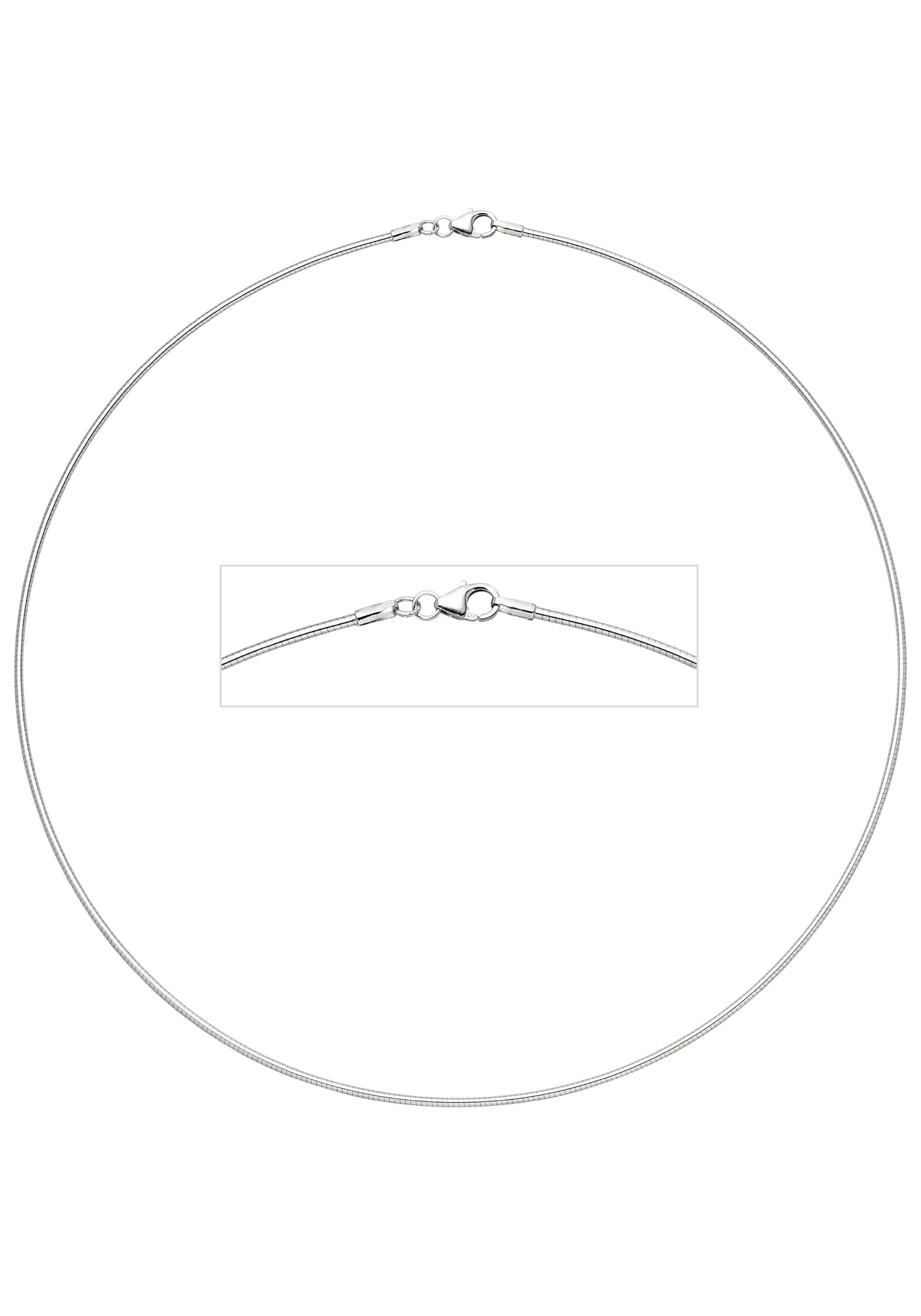 JOBO Halsreif 925 Silber 45 cm 1,5 mm