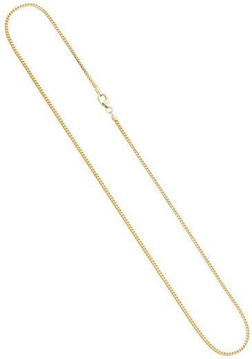JOBO Goldkette, Bingokette 585 Gold 42 cm 1,2 mm