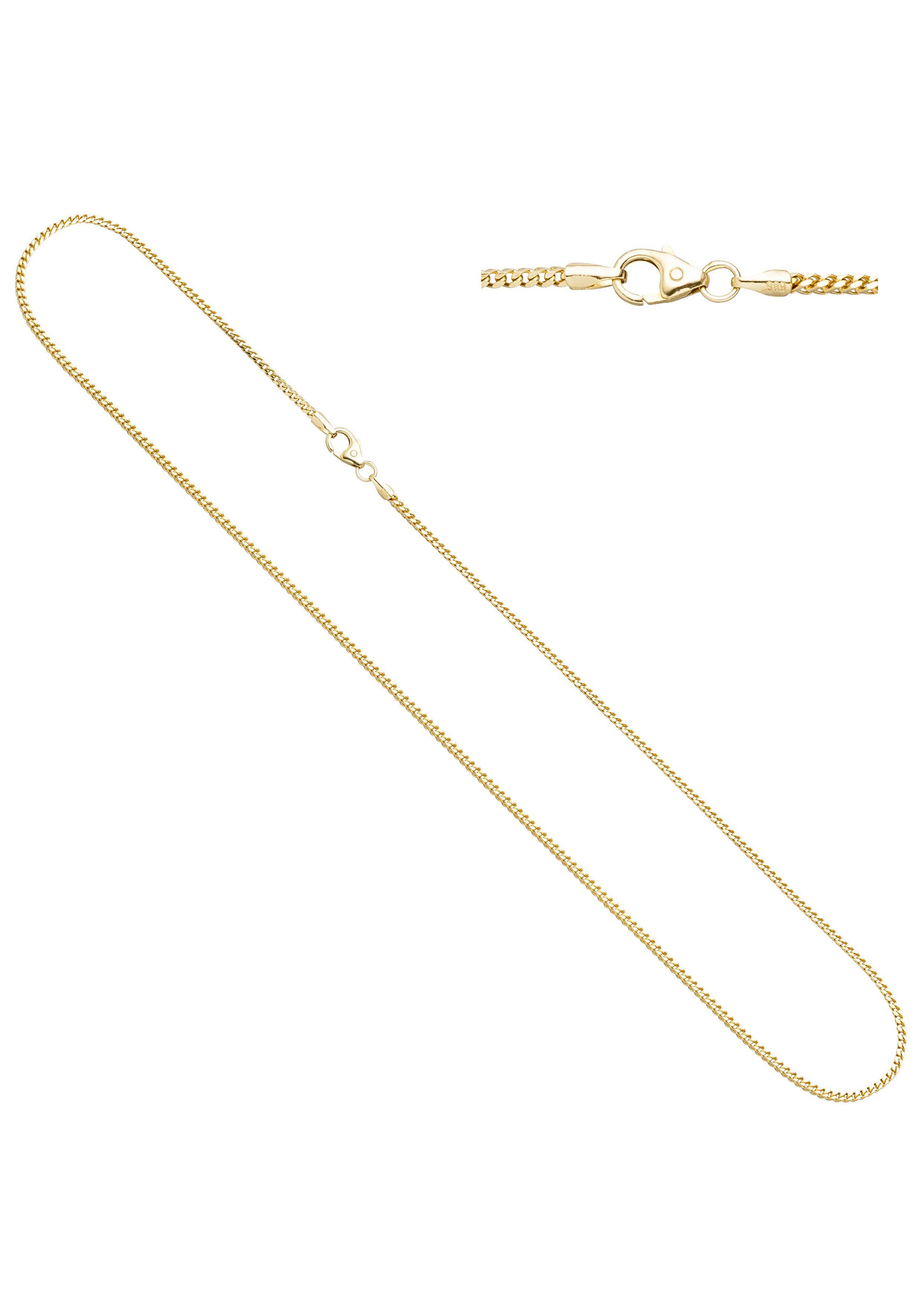 JOBO Goldkette Bingokette 585 Gold 45 cm 1,2 mm