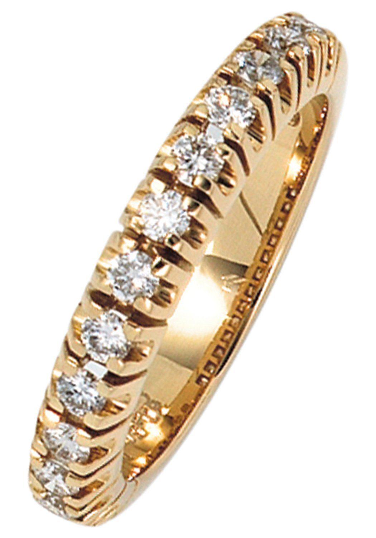 13 Mit Diamanten Diamantring Gold Jobo Kaufen 585 k0N8nOPZwX