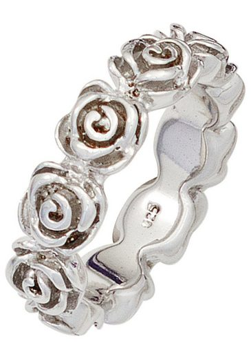 JOBO Silberring »Rosen«, 925 Silber