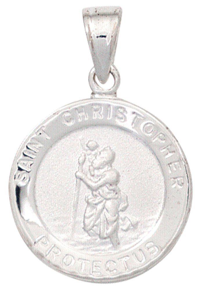 JOBO Kettenanhänger »Christopherus« 925 Silber