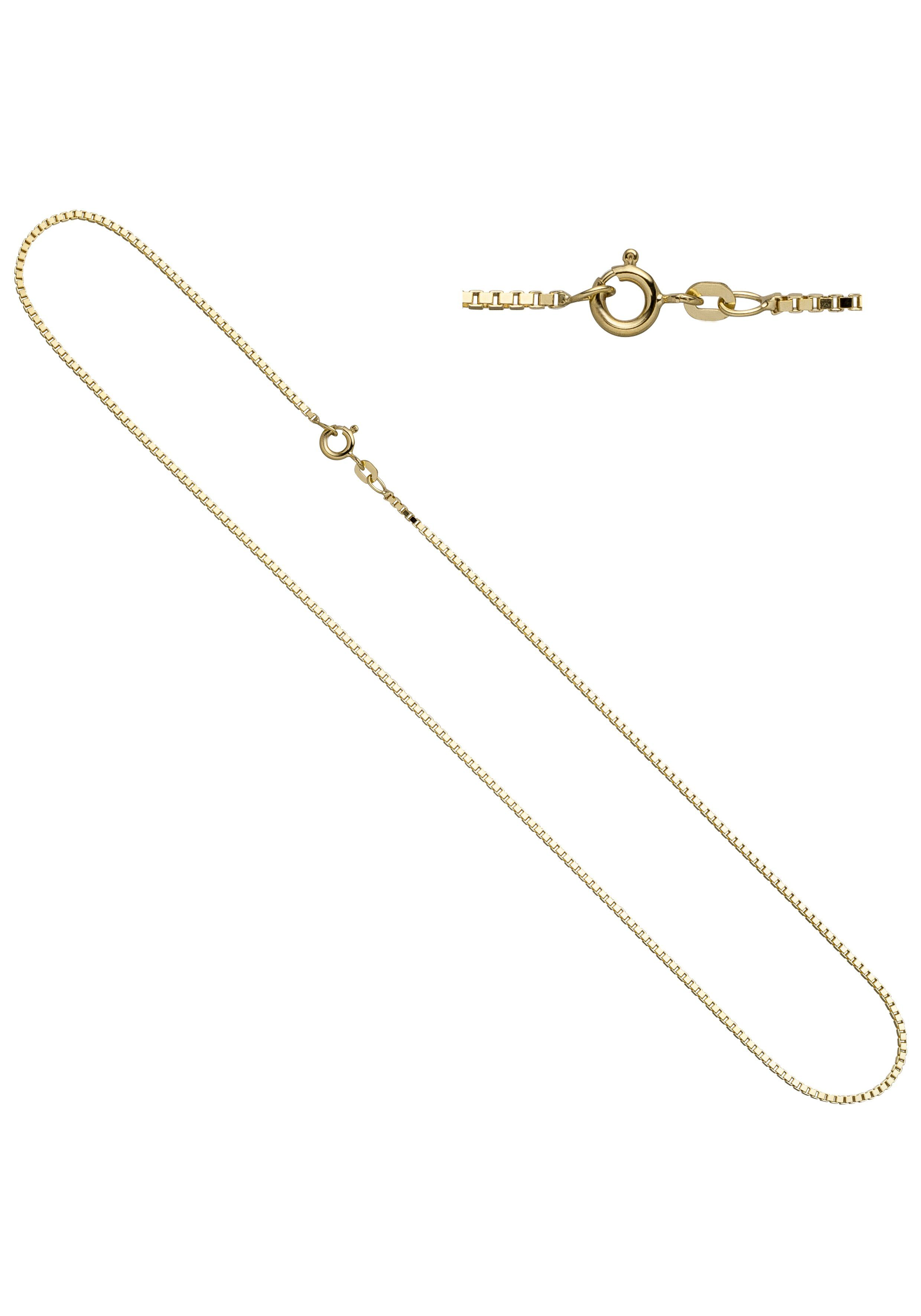JOBO Goldkette Venezianerkette 333 Gold 38 cm 1,0 mm