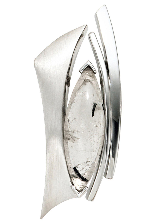 JOBO Kettenanhänger 925 Silber mit Turmalin