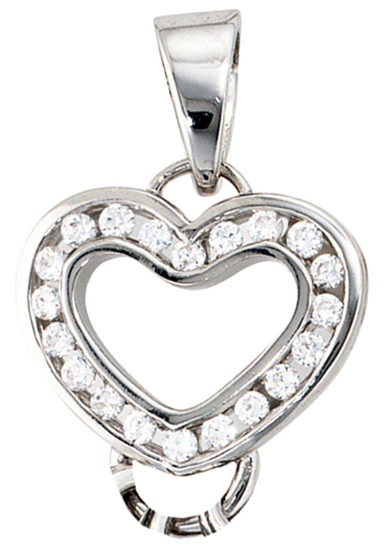 JOBO Kettenanhänger, 925 Silber mit Zirkonia | Schmuck > Halsketten > Ketten ohne Anhänger | Silber | JOBO