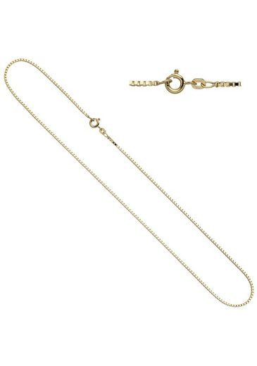 JOBO Goldkette Venezianerkette 585 Gold 40 cm 1,0 mm