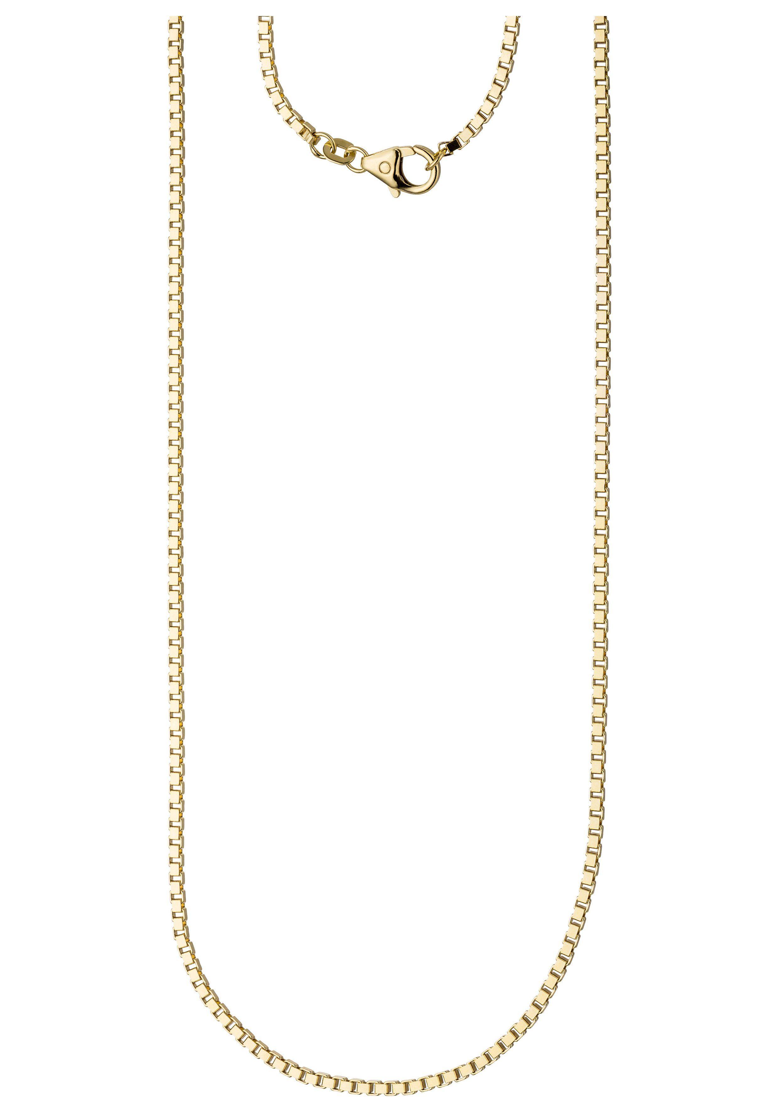 JOBO Goldkette Venezianerkette 585 Gold diamantiert 60 cm 2 mm
