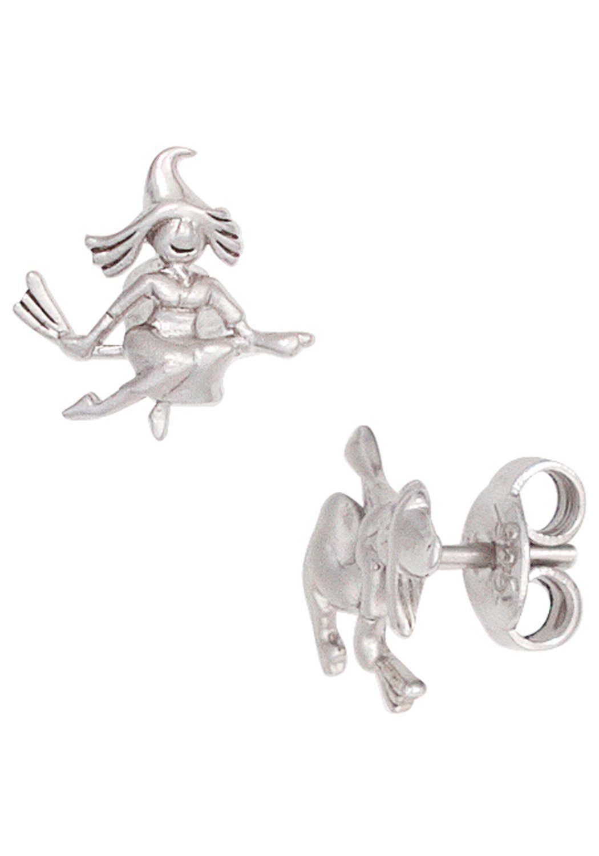 JOBO Paar Ohrstecker »Hexe« 925 Silber