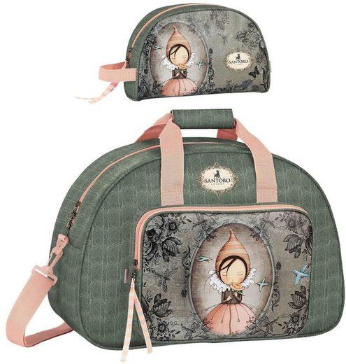 SANTORO London Sporttasche »Santoro Mirabelle - XL Sporttasche und Kulturtasche« (Reißverschluss, Mädchen), Geringes-Gewicht