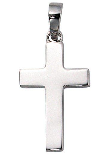 JOBO Kreuzanhänger, Kreuz 925 Silber