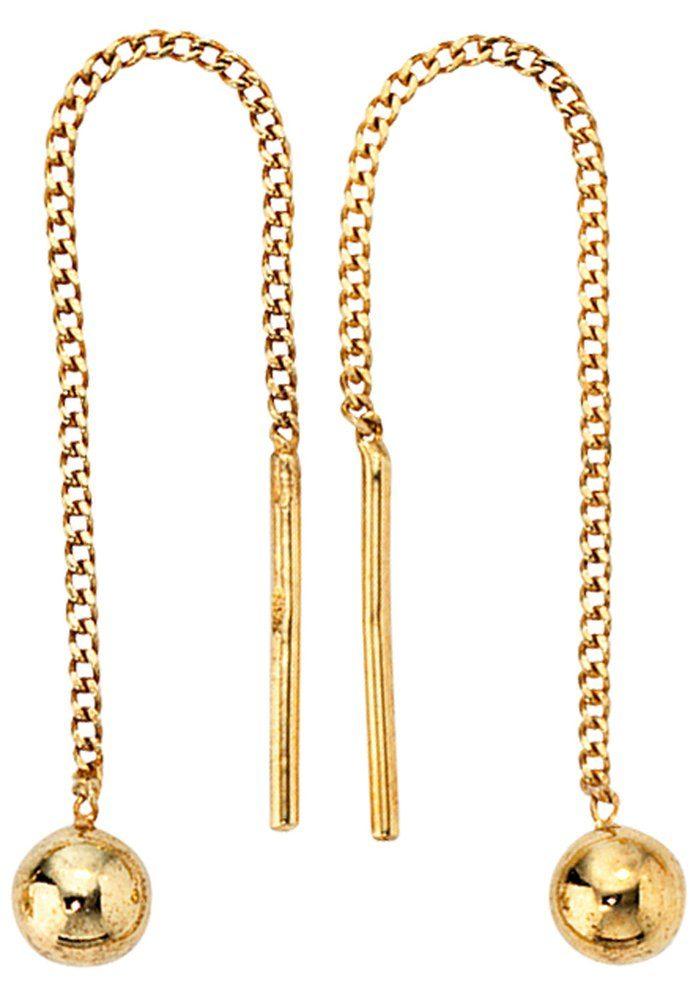 JOBO Paar Ohrhänger 333 Gold
