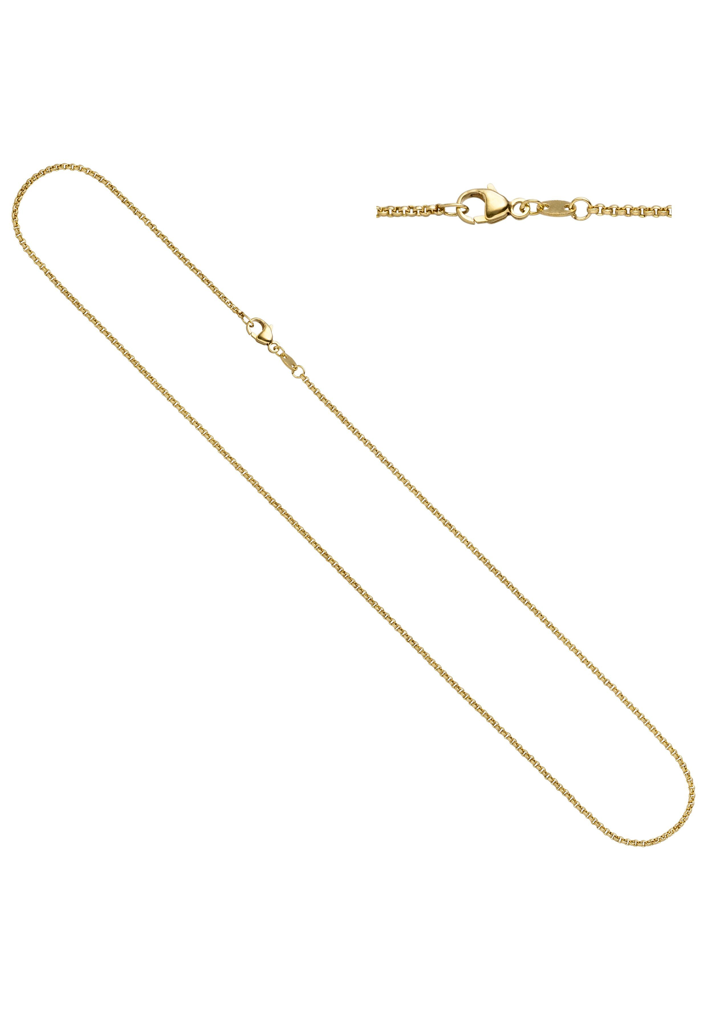 JOBO Goldkette Erbskette 333 Gold 40 cm 1,5 mm