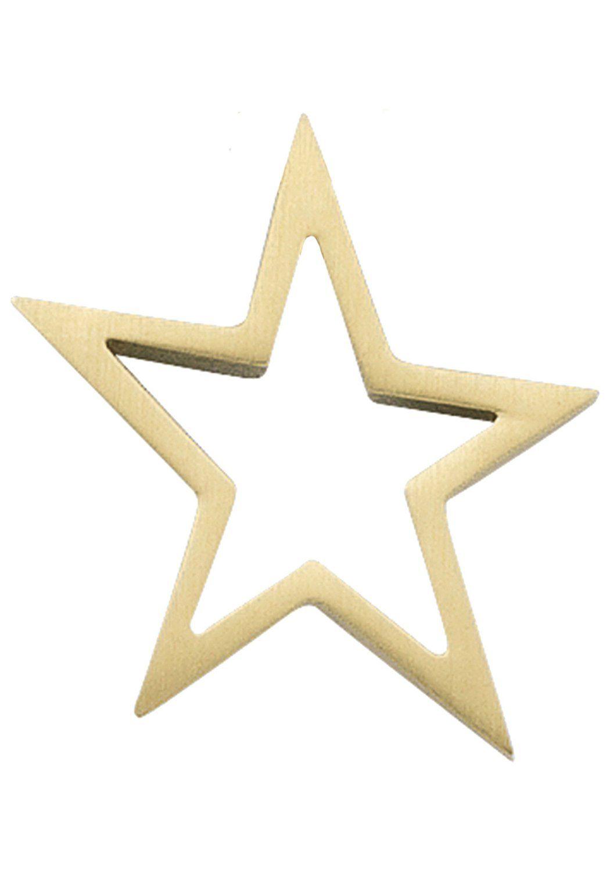 JOBO Sternanhänger »Stern« 585 Gold