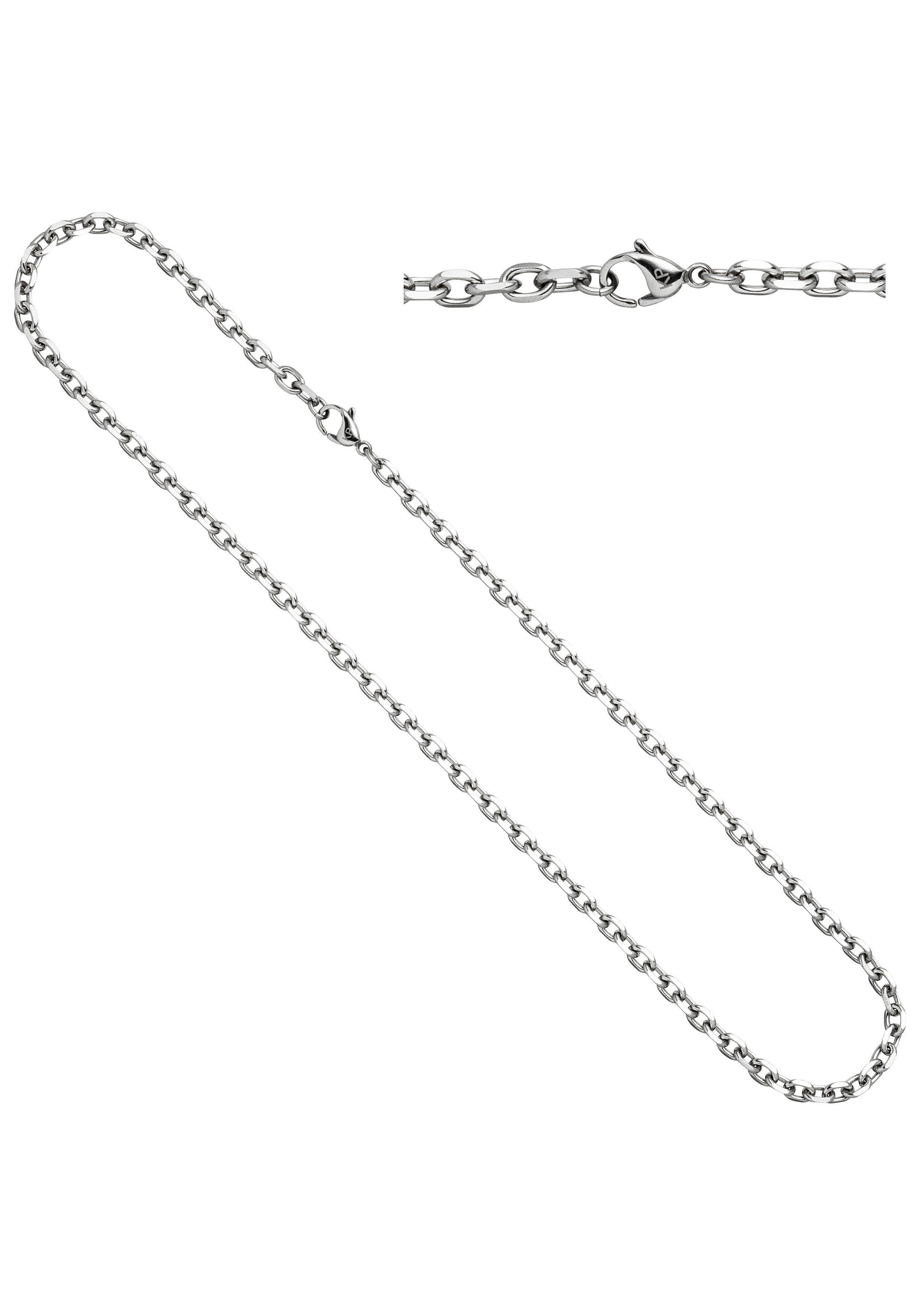 JOBO Edelstahlkette Ankerkette Edelstahl 90 cm | Schmuck > Halsketten > Edelstahlketten | JOBO
