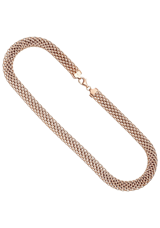 JOBO Collier 925 Silber roségold vergoldet 45 cm