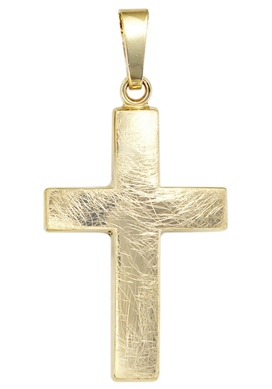 JOBO Kreuzanhänger Kreuz 333 Gold