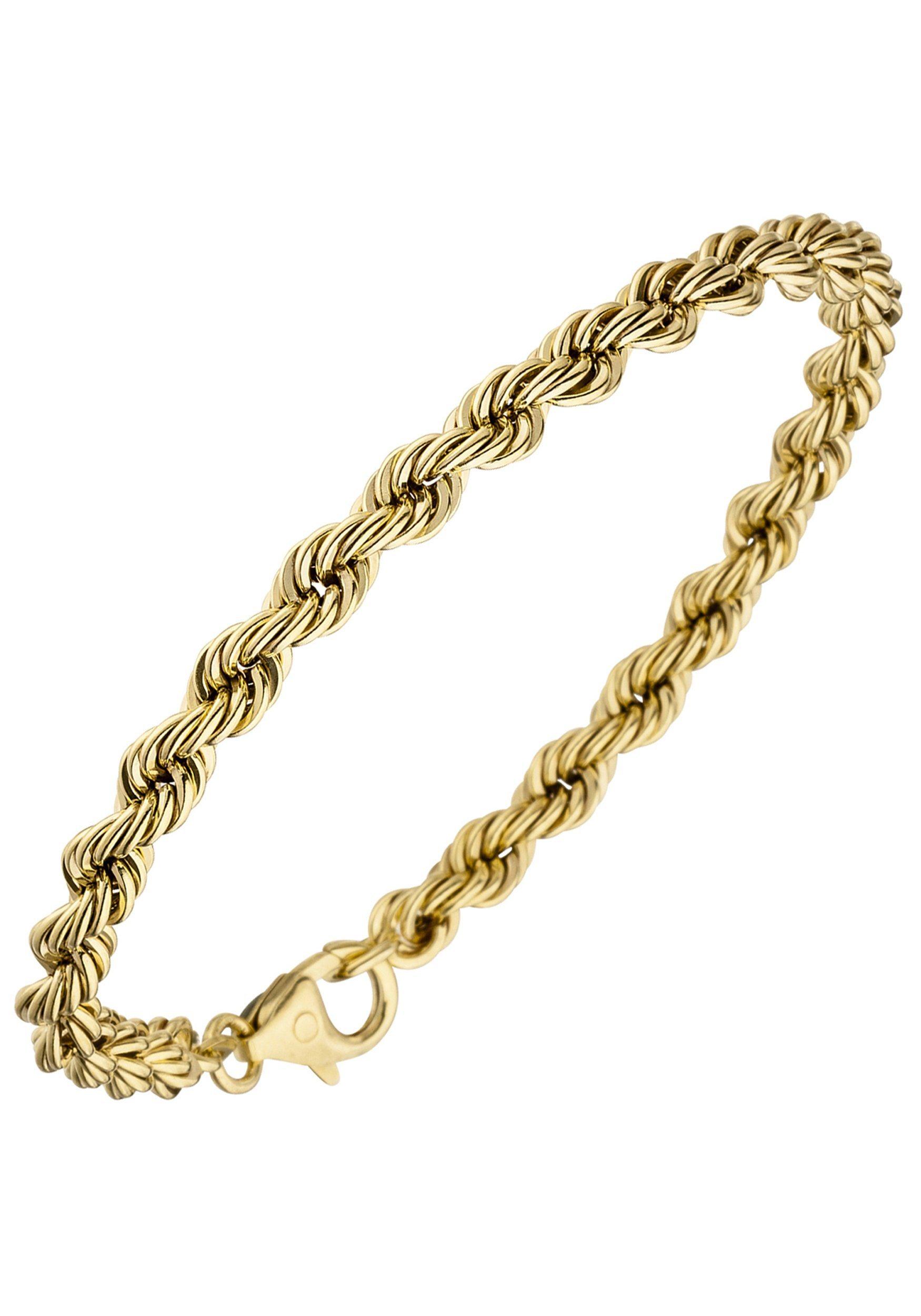 JOBO Goldarmband Kordelarmband 585 Gold 19 cm | Schmuck > Armbänder > Goldarmbänder | Gold | JOBO
