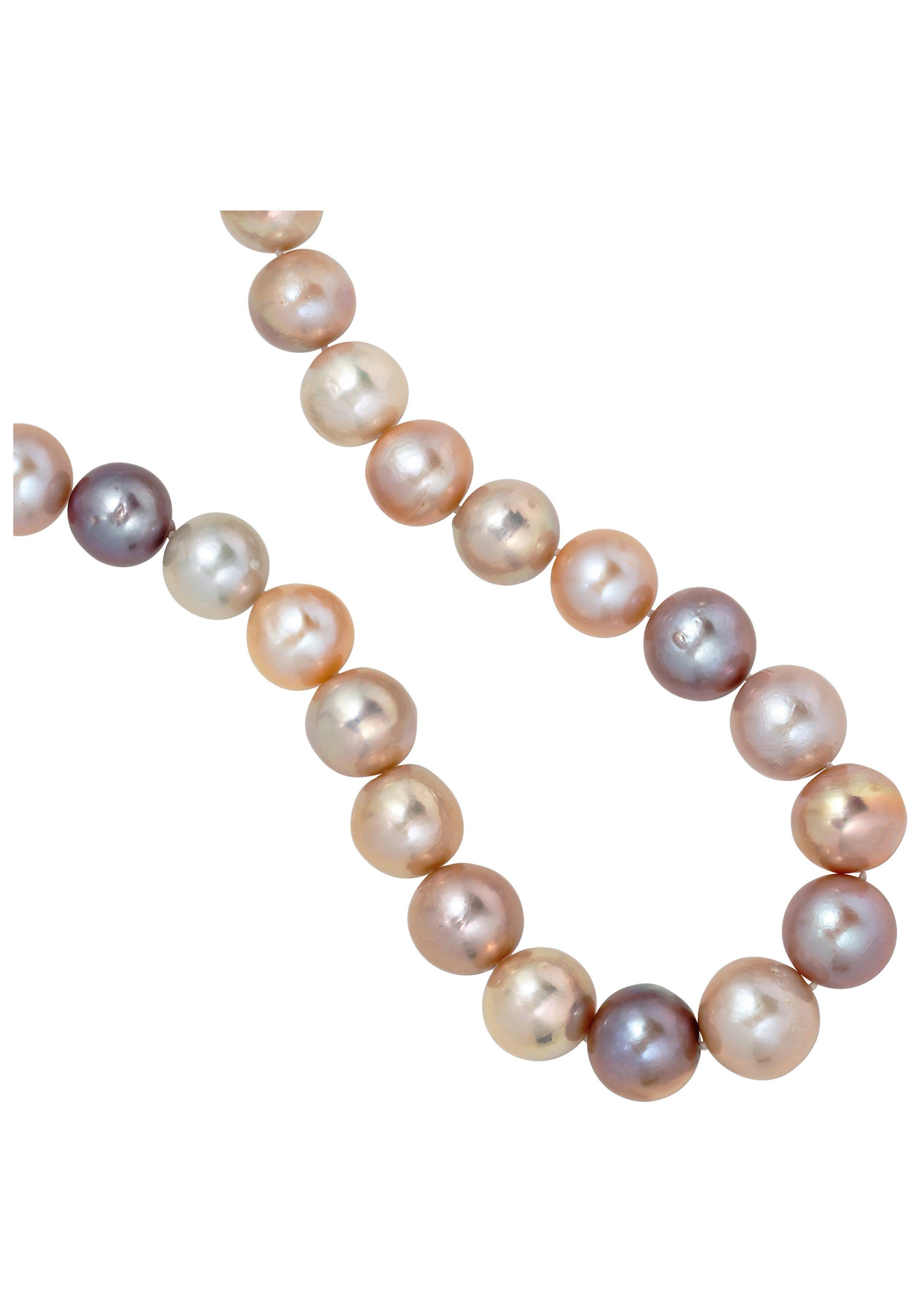 JOBO Perlenkette mit Süßwasser-Zuchtperlen 45 cm