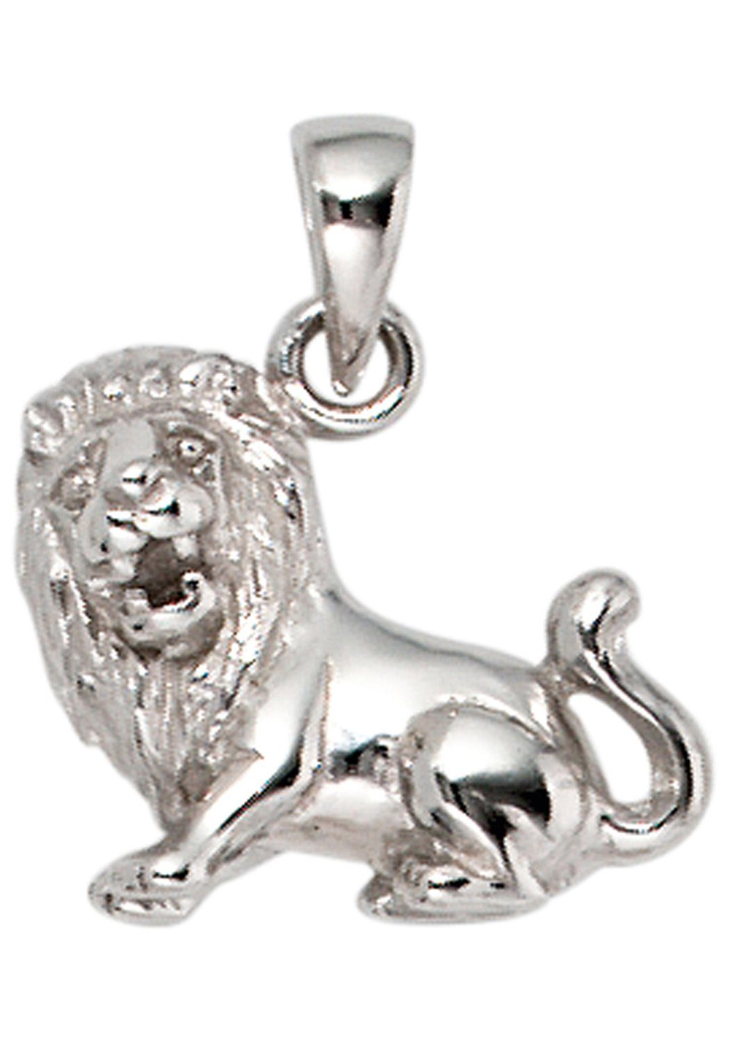 JOBO Sternzeichenanhänger Sternzeichen Löwe 925 Silber