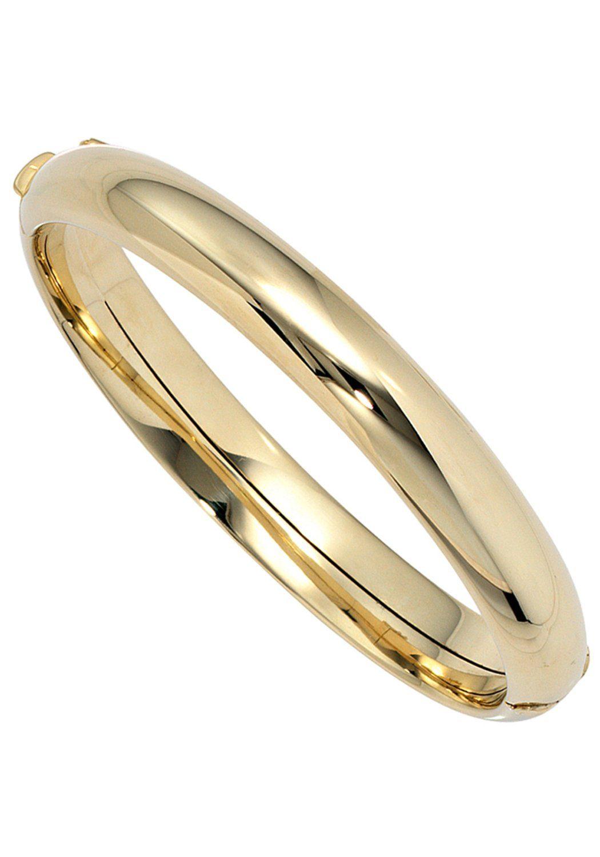 JOBO Armreif oval 585 Gold