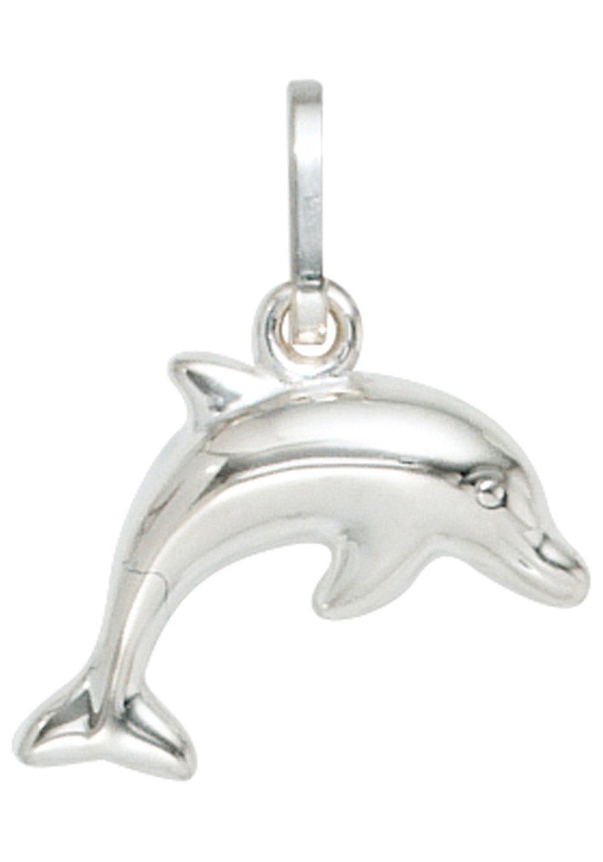 JOBO Kettenanhänger »Delfin« 925 Silber