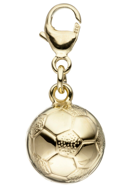 JOBO Charm-Einhänger »Fußball« 333 Gold