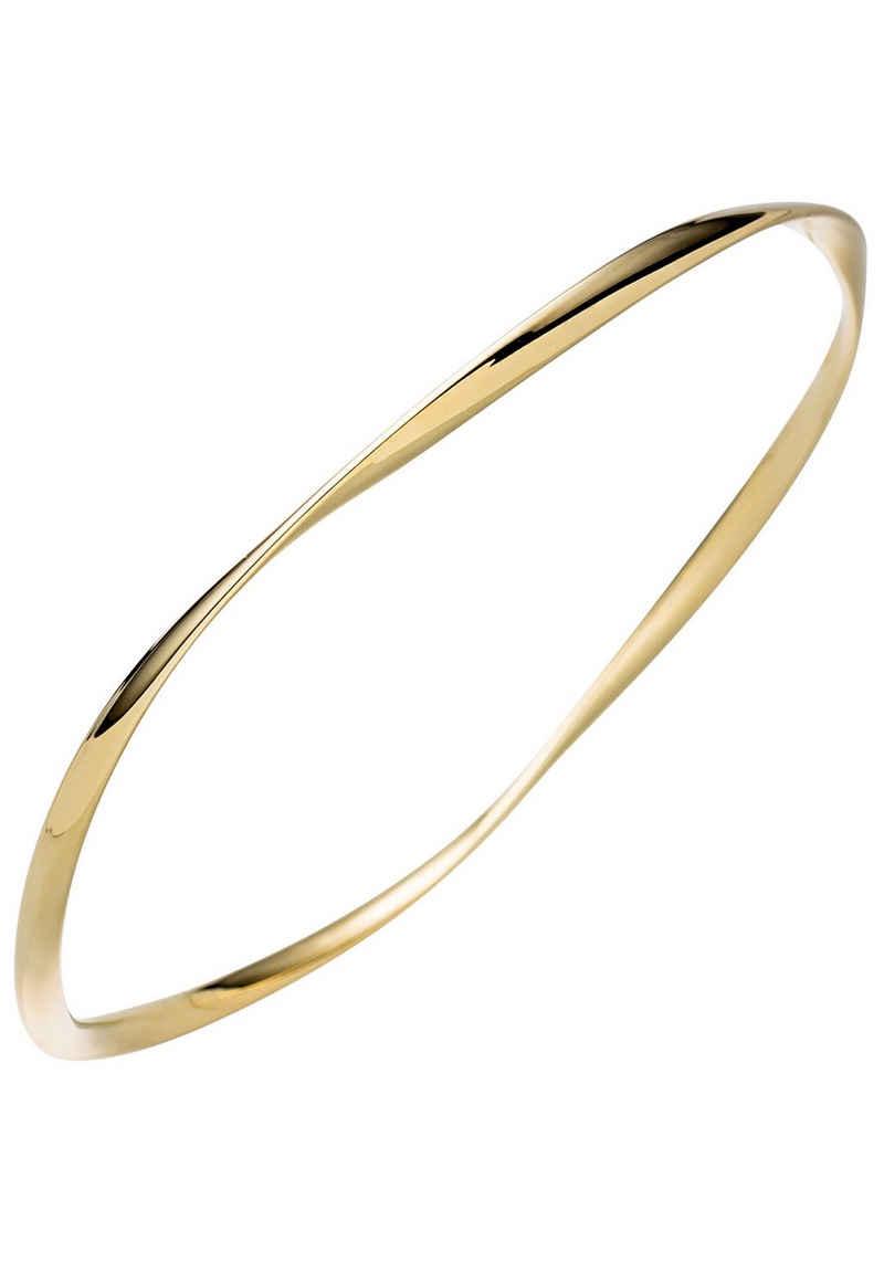 JOBO Armreif, 925 Silber vergoldet