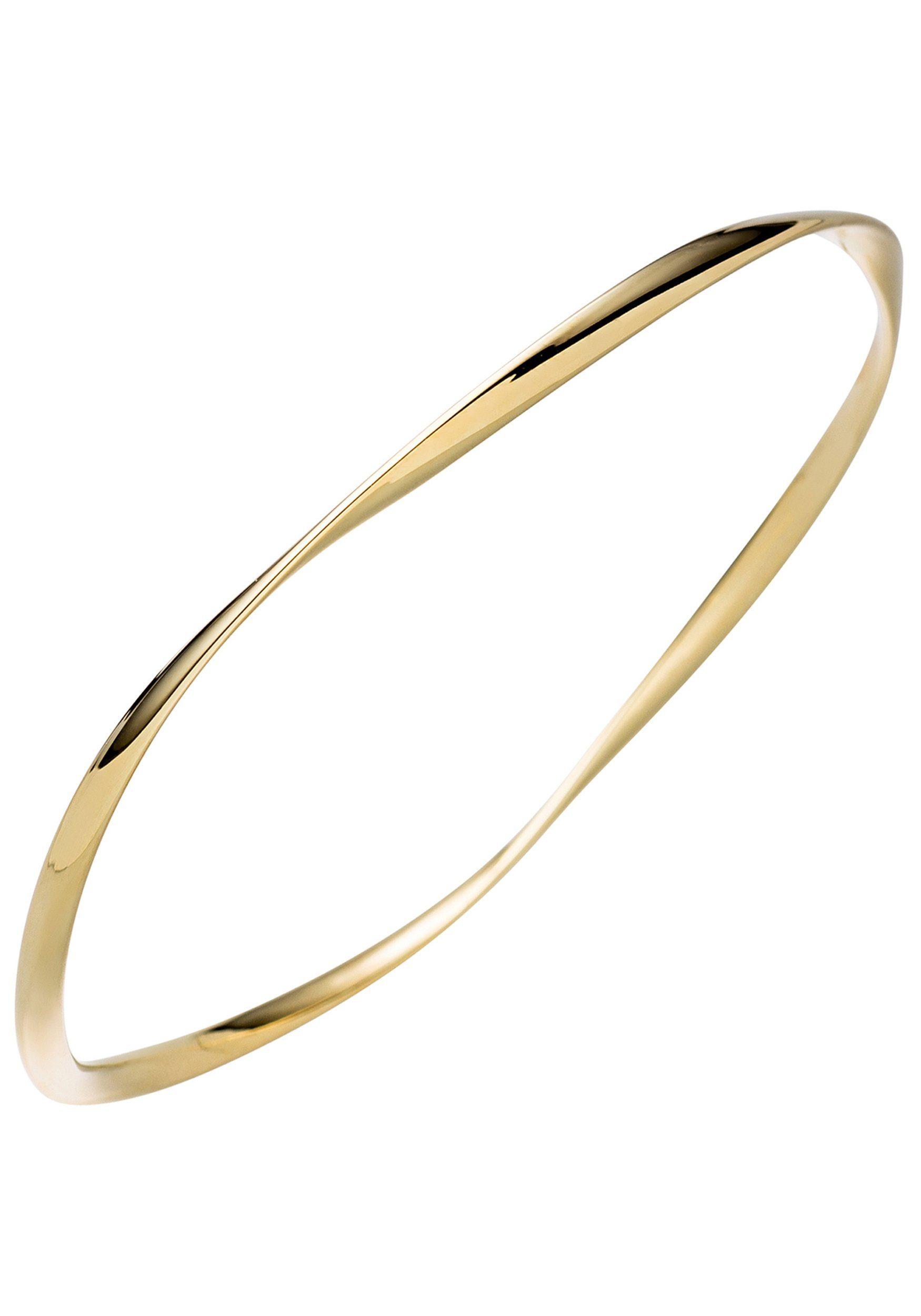JOBO Armreif 925 Silber vergoldet