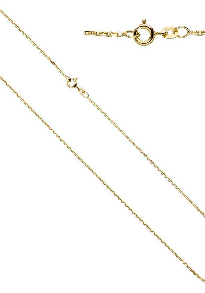 JOBO Goldkette Ankerkette 585 Gold 40 cm 1,6 mm | Schmuck > Halsketten > Goldketten | Goldfarben | JOBO