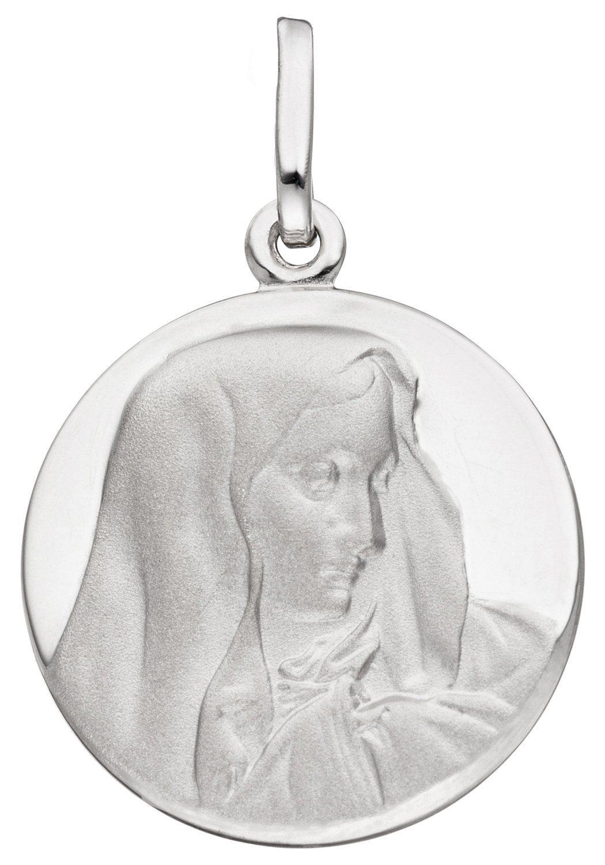 JOBO Kettenanhänger »Madonna« rund 925 Silber