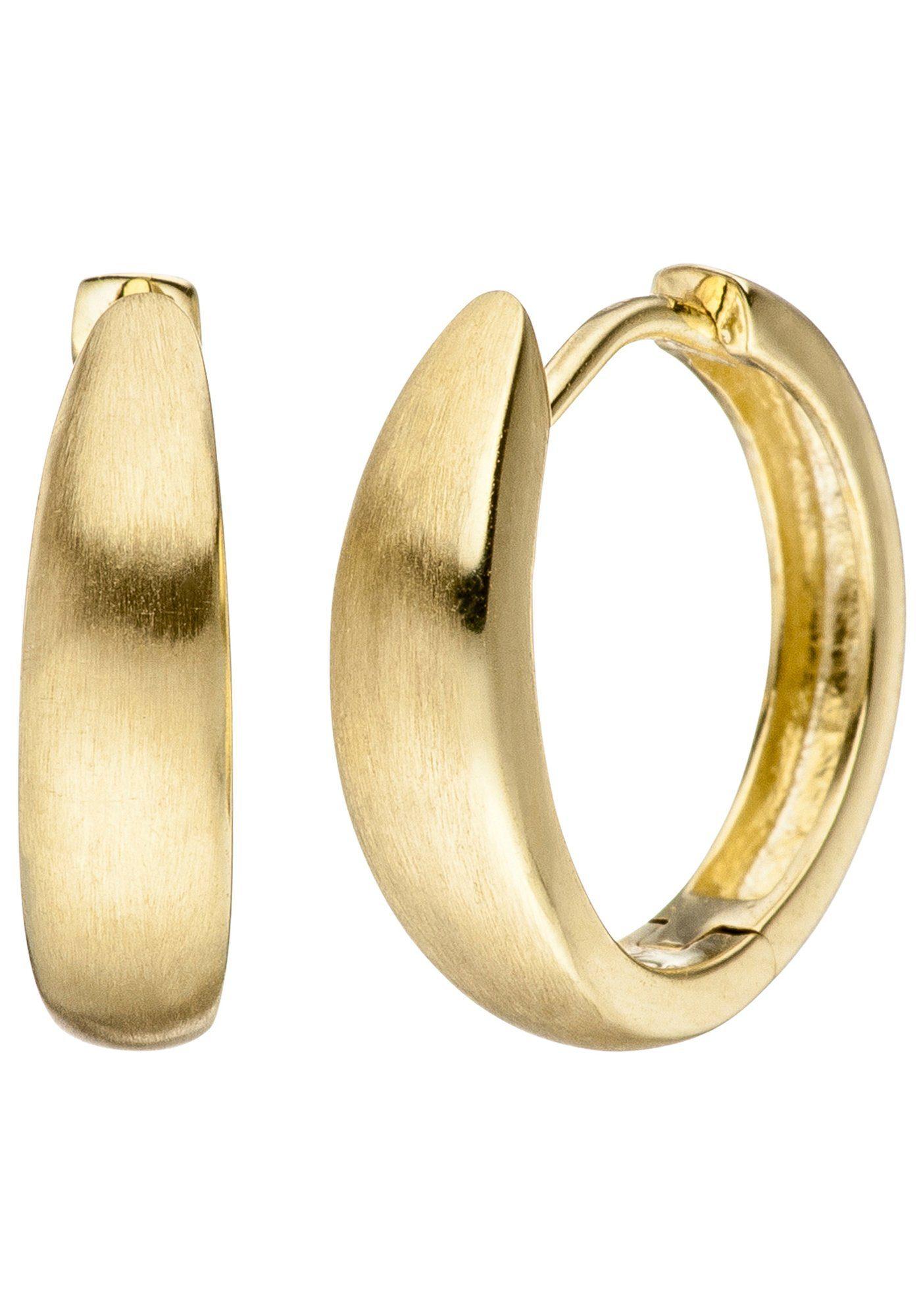 JOBO Paar Creolen 333 Gold