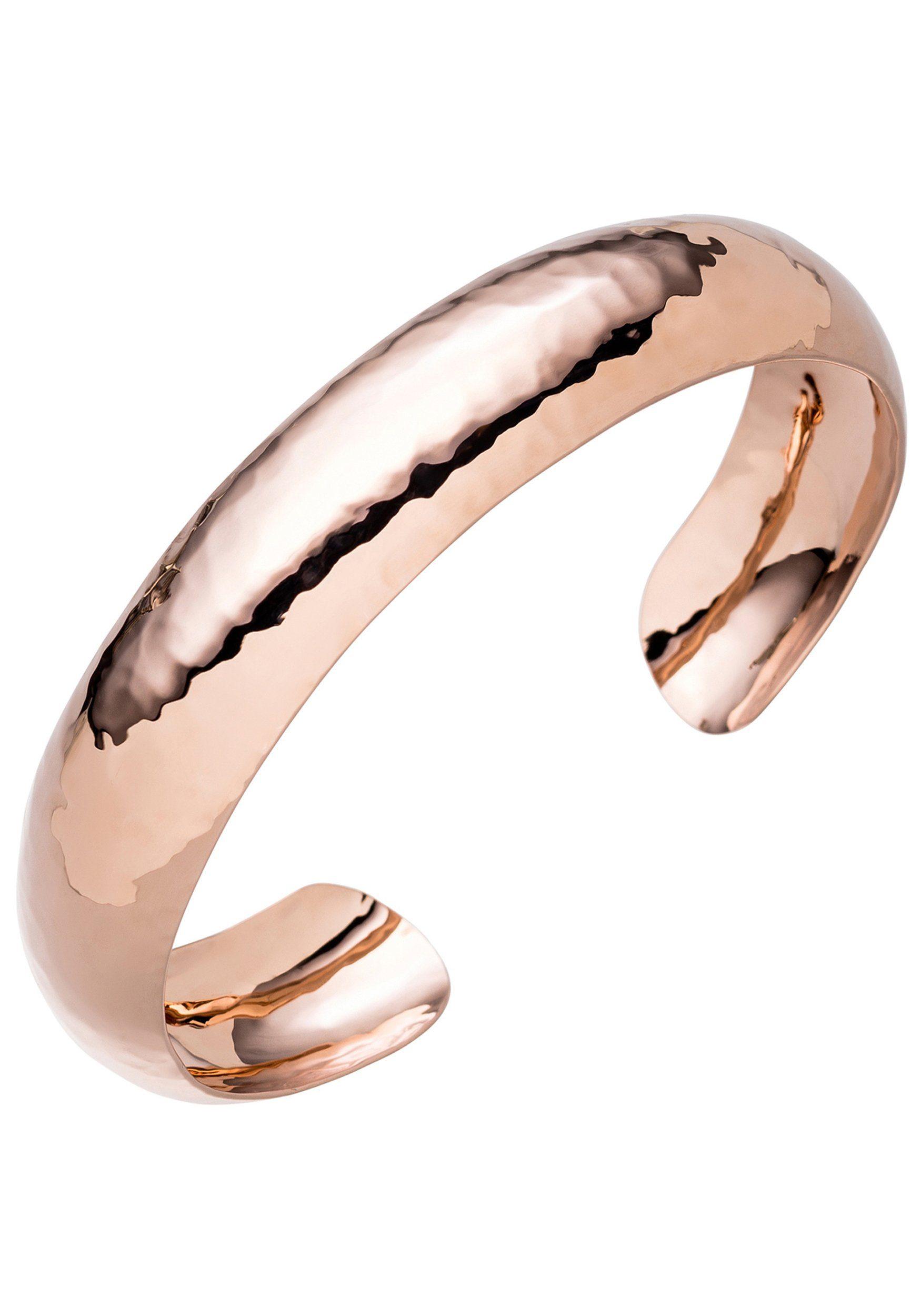 JOBO Armspange 925 Silber roségold vergoldet