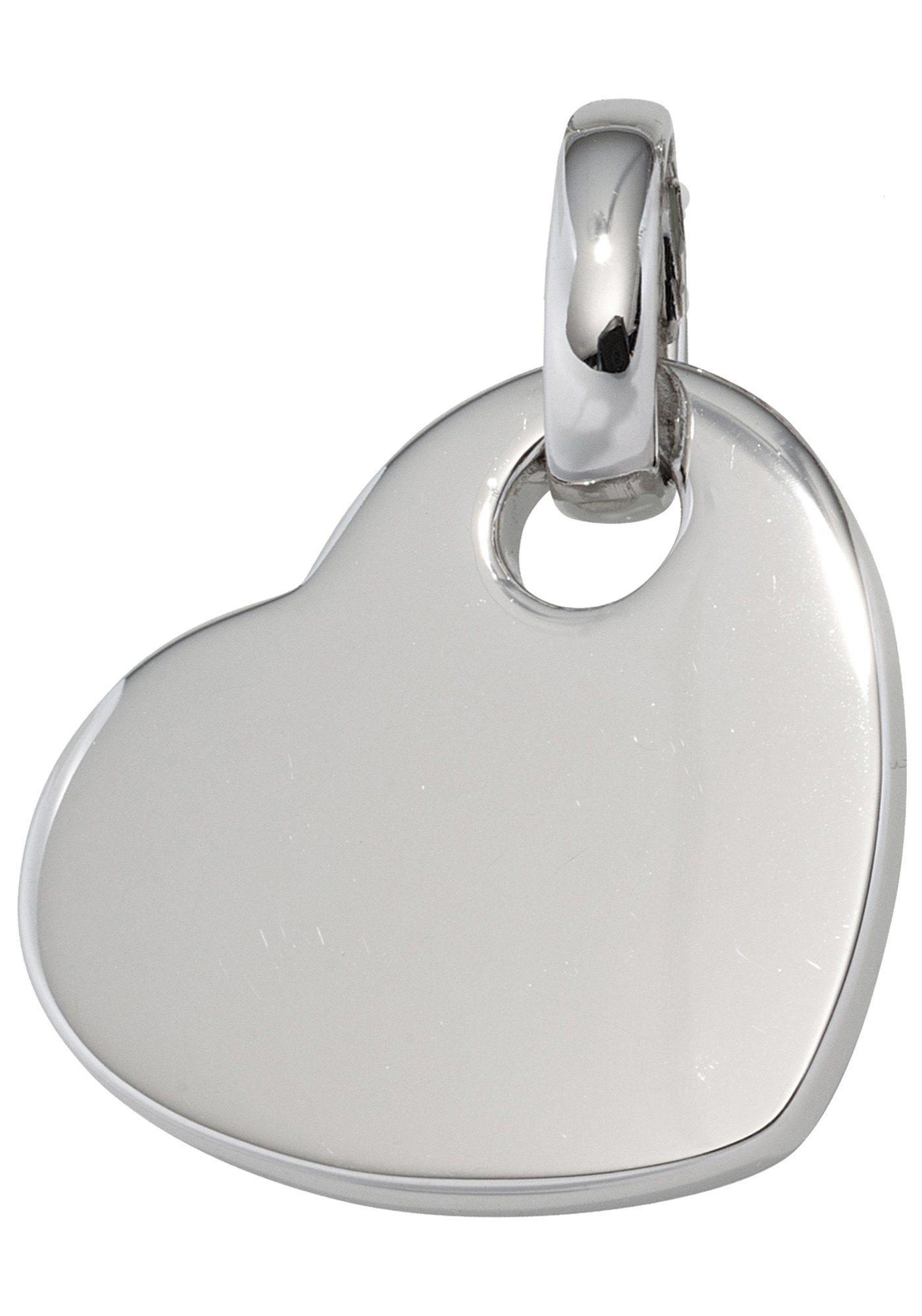 JOBO Herzanhänger »Herz« 925 Silber | Schmuck > Halsketten > Herzketten | Silber | JOBO