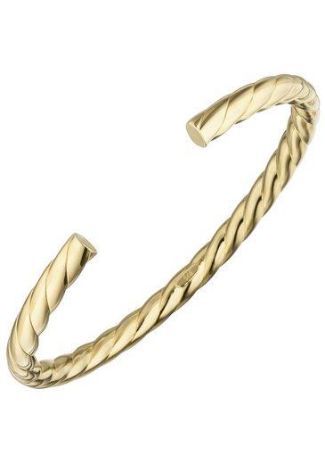 JOBO Armspange, oval 925 Silber vergoldet