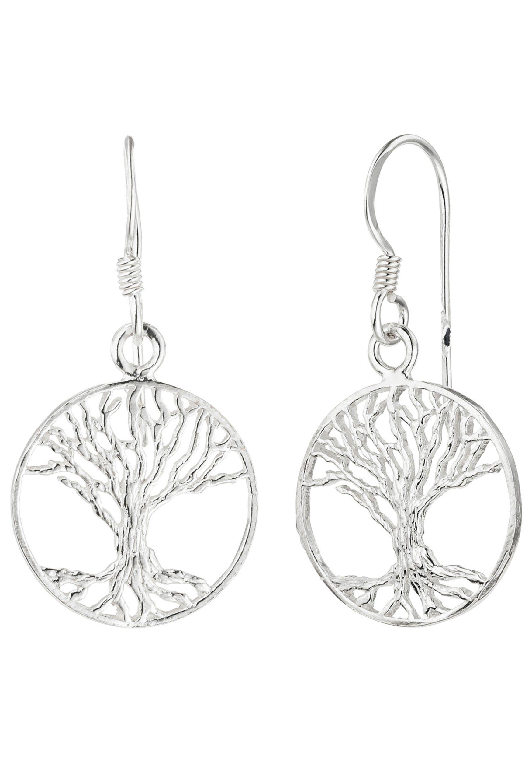 JOBO Paar Ohrhänger »Baum« 925 Silber