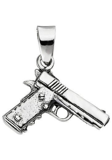 JOBO Kettenanhänger »Pistole« 925 Silber