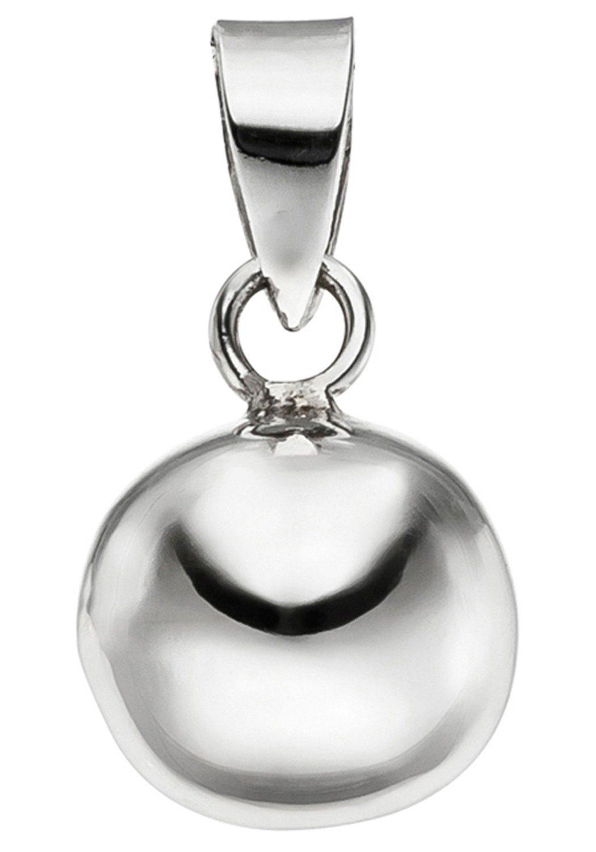 JOBO Kugelanhänger »Kugel«, 925 Silber, Hochwertiger Kettenanhänger Motiv