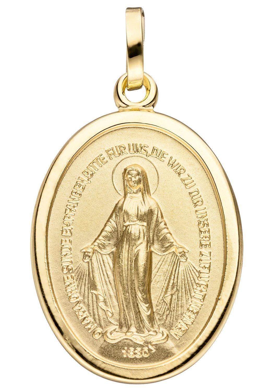 JOBO Kettenanhänger »Milagrosa« oval 333 Gold