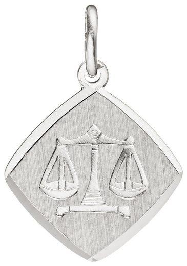 JOBO Sternzeichenanhänger Sternzeichen Waage 925 Silber