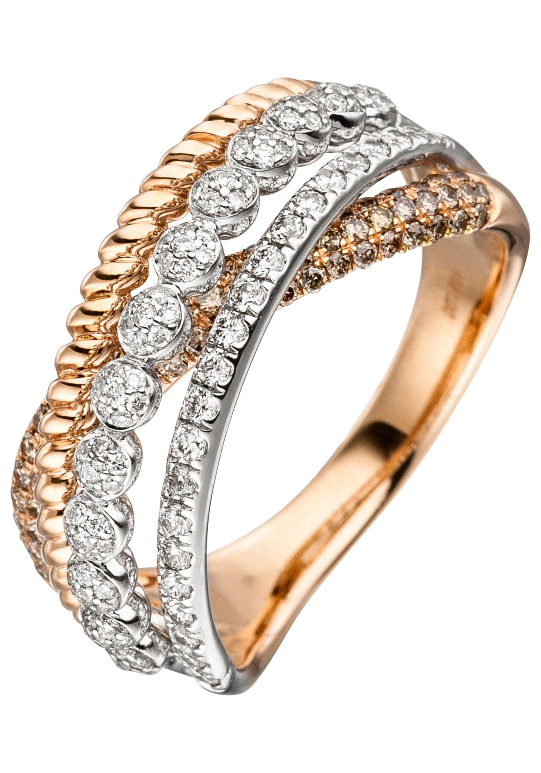 585 Diamantring Diamanten Mit Jobo Roségold 181 uTOZPkXiw