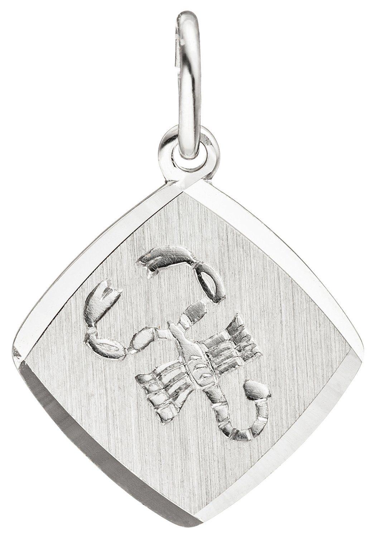 JOBO Sternzeichenanhänger Sternzeichen Skorpion 925 Silber