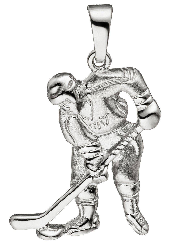 JOBO Kettenanhänger »Eishockeyspieler« 925 Silber